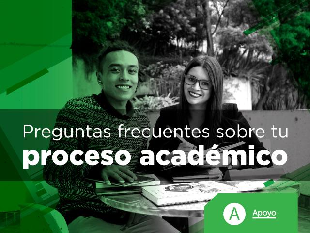 preguntas sobre proceso académico | Uniandes