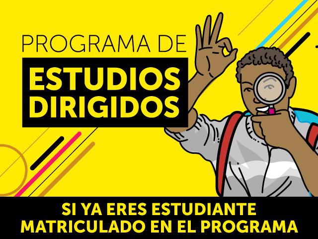 Programa de estudios dirigidos | Uniandes